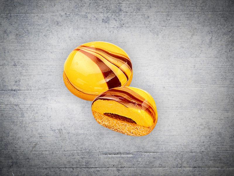 Advocaat marble cookies